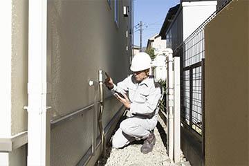 Проведение исследования конструктивных элементов здания